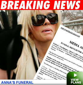Anna Nicole Smith's Funeral