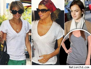 Nicole, Jessica and Lindsay in NATION Tees