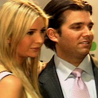 Ivanka and Donald Trump, Jr.