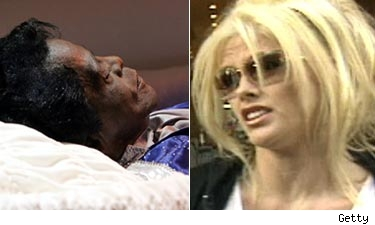james Brown Anna Nicole Smith