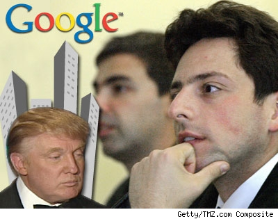 Trump and the Google boys.