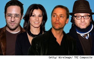 Chad Lowe, Rob Morrow, Fisher Stevens, Kim Painter
