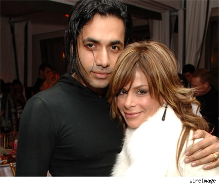 Anand Jon and Paula Abdul