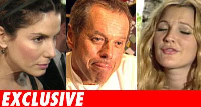 Sandra Bullock, Wolfgang Puck, Drew Barrymore