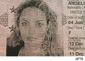 Angelina Jolie passport photo