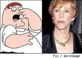 Peter Griffen, Carol Burnett