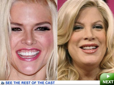 tori spelling nose. played by Tori Spelling.
