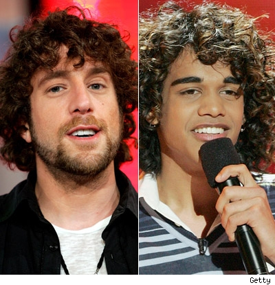 Elliott Yamin and Sanjaya Malakar