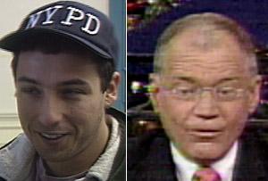 Sandler, Letterman