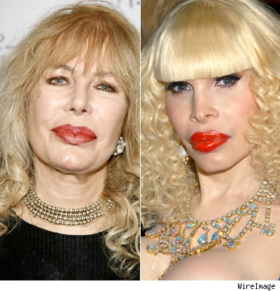 Loretta Swit and Amanda Lepore