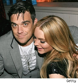 Robbie Williams & Lindsay Lohan