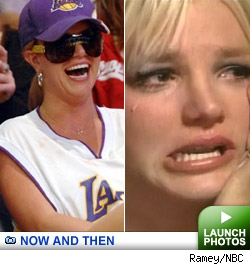 Britney Now and Then Gallery: Click to launch photos