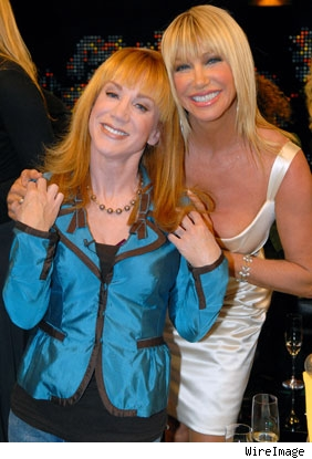 Kathy Griffin and Suzanne Somers