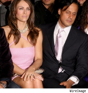 Liz Hurley and Arun Nayer