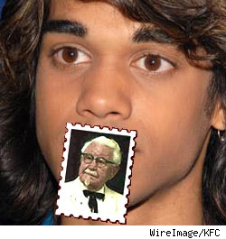 Sanjaya and Col. Sanders
