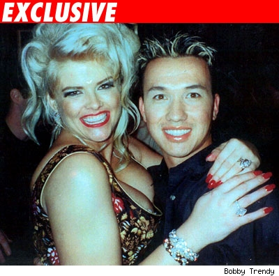 Anna Nicole and Bobby Trendy