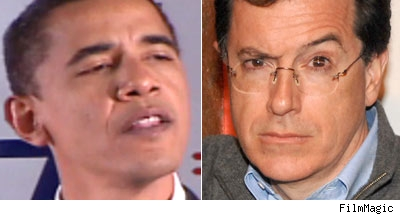 Barack Obama, Stephen Colbert