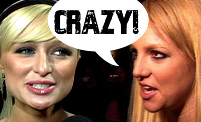 composite of britney spears and paris hilton