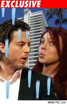 Harry Morton, Lindsay Lohan