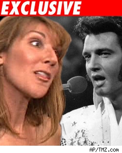 Celine Dion and Elvis Presley