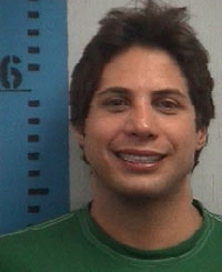 Joe Francis' booking photo.