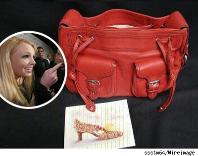 Britney Spears purse on eBay