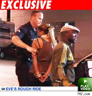 Eve gets busted for DUI: Click to watch the video
