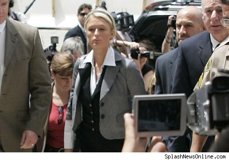Paris enters court