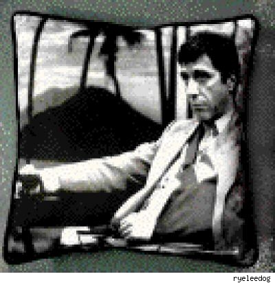 al pacino pillow