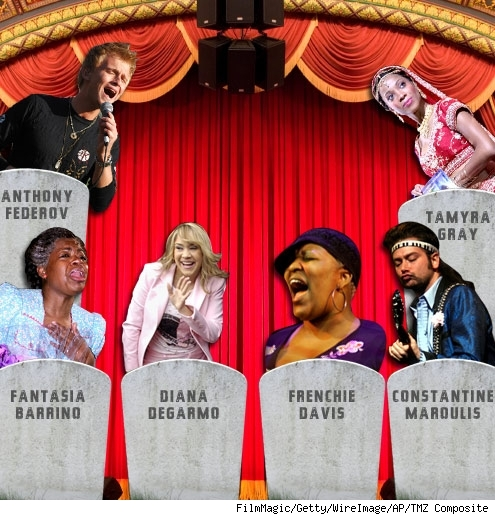 Anthony Federov, Fantasia Barrino, Diana Degarmo, Frenchie Davis, Constatine Maroulis, Tamyra Gray