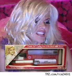 anna nicole hair curler