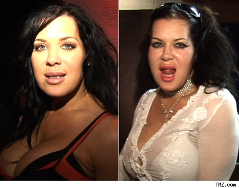 Chyna now and then