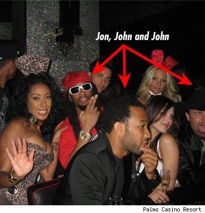 Lil Jon, John Legend, John Rich