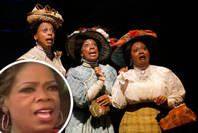 Oprah and the color purple