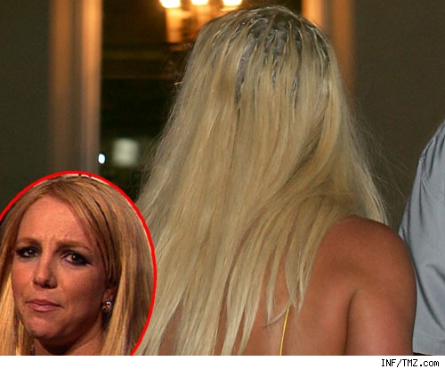 Britney Spears -- hair hell!