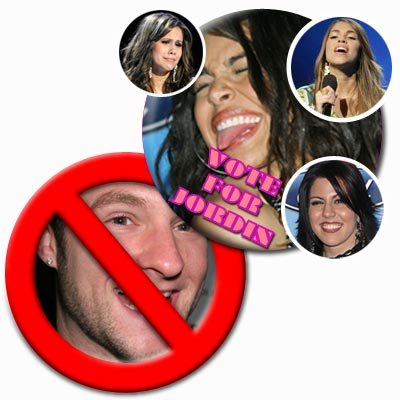 Jordin Sparks, Blake Lewis. Antonella Barba, Haley Scarnato, Gina Glocksen