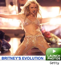 britney spears evolution: click to launch gallery