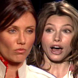 Cameron Diaz and Jessica Biel