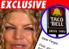Taco Bell to Fergie: Munch on This!