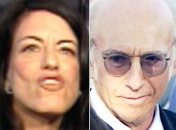 Laurie and Larry David