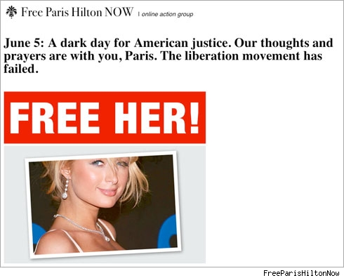 Free Paris Hilton Now