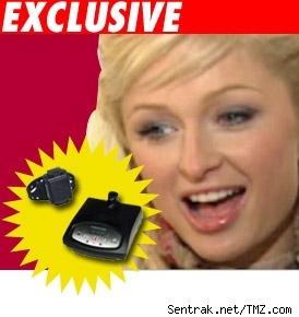 Paris Hilton's Ankle Bracelet