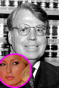 Judge Sauer, Paris Hilton