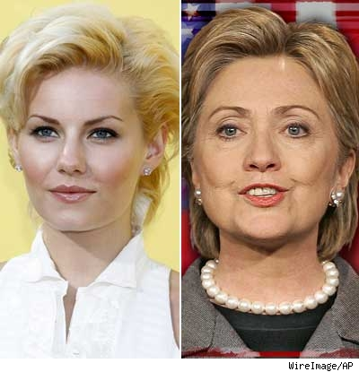 Elisha Cuthbert, Hillary Clinton
