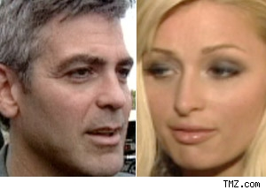 George Clooney, Paris Hilton