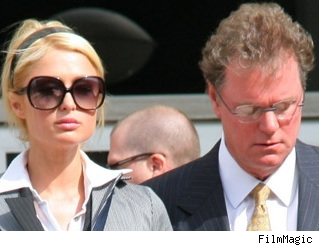 Paris Hilton and daddy Rick.