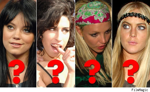 Lily, Amy, Britney, Lindsay