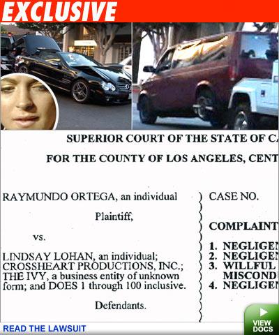 Lohan lawsuit