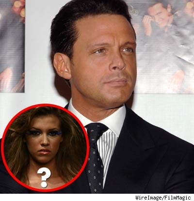 Luis Miguel and Michelle Salas