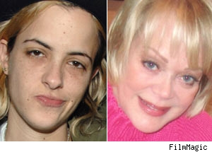 Samantha Ronson and Candy Spelling